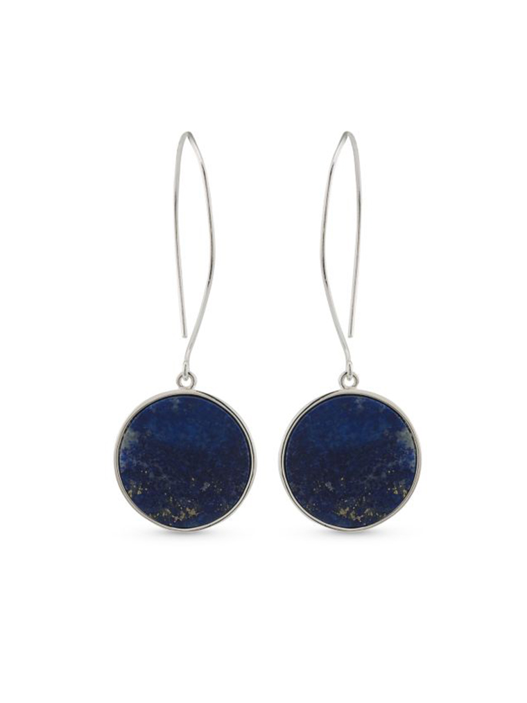 Ralph Lauren New York Round Drop Earrings